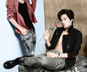 kai, exo, and luhan image