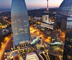 baku, azerbaijan, and city image
