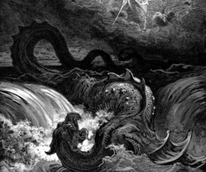 leviathan and gustave dore image