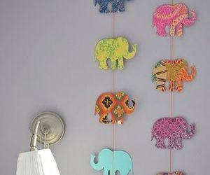 elephant, diy, and decoration image