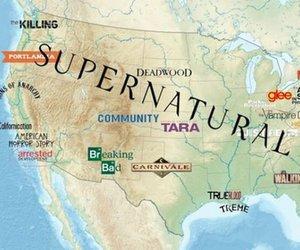 supernatural, Dexter, and glee image
