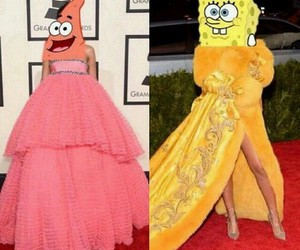 rihanna and spongebob image