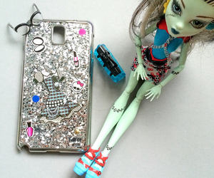 glitter, samsung, and monster high image