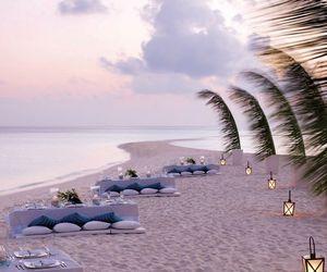 amazing, beach, and Maldives image