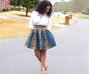 African, fashion, and style image