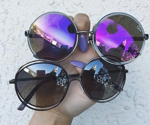 sunglasses, grunge, and style image