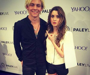 austin and ally, ross lynch, and laura marano image