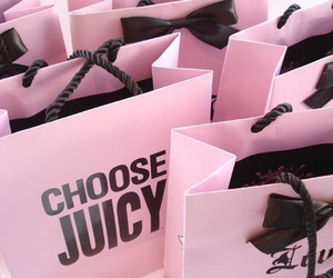 juicy couture, pink, and choose juicy image