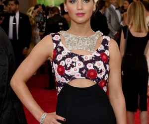 Jennifer Lawrence and met gala image