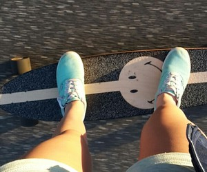 Hot, longboard, and shorts image