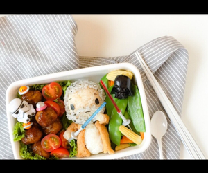 adorable, bento, and food image