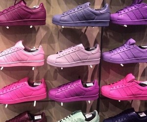 adidas, colourful, and shoes image