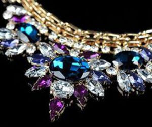 diamond and necklace image