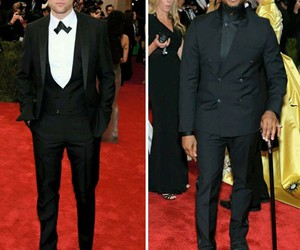 robert pattinson, usher, and met gala 2015 image