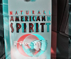 cigarettes, trippy, and american spirits image