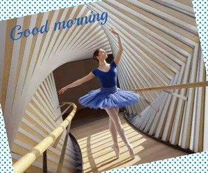 ballet, blue, and girl image
