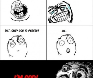 funny, god, and lol image