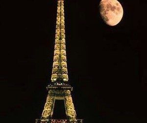 cool, eiffel tower, and night image