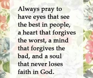 faith, flowers, and god image
