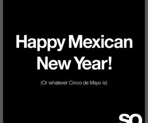mexican, new year, and sarcasm image