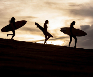 cool, summer, and surf image