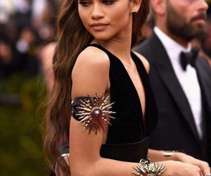 beautiful, met gala, and zendaya image