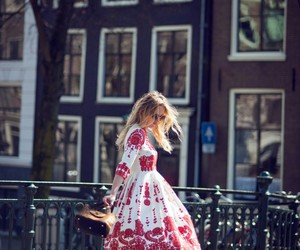 dress, street style, and fashion image
