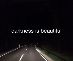 Darkness, road, and feelings image