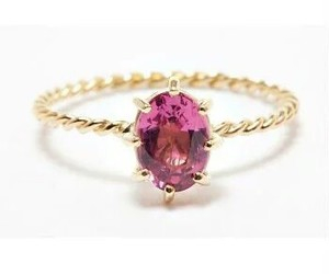 gold, jewelry, and ruby image