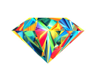 diamond, colors, and wallpaper image