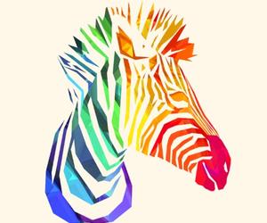 zebra, animal, and art image