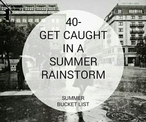 black, bucket, and rain image