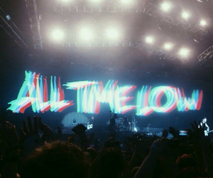 atl, all time low, and concert image