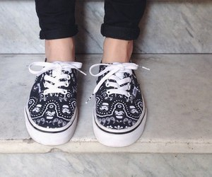 black and white, shoes, and hipster image