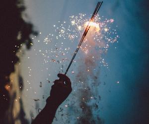light, night, and fireworks image