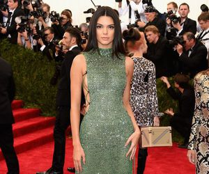 kendall jenner, red carpet, and dress image