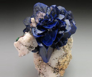 azurite and blue image