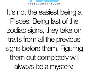 mystery, pisces, and zodiac image
