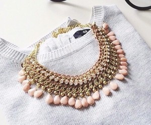 necklace, accessories, and girly image