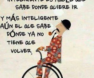 frases, inteligente, and volver image