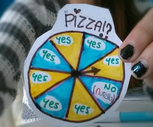 pizza, nutella, and funny image