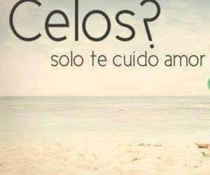 <3, amor, and celos image