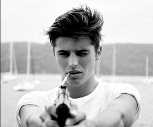 boy, gun, and Hot image