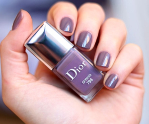 dior, nails, and vernis image