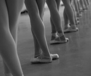 ballet, balley, and black and white image