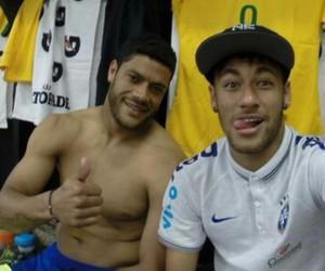 Hulk, neymar, and neymar jr image