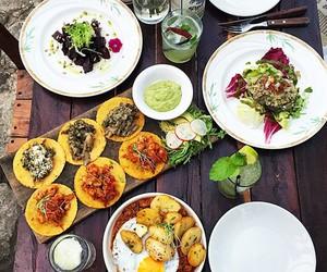 food, salad, and wrap image