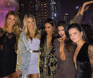 selena gomez, shay mitchell, and Dubai image