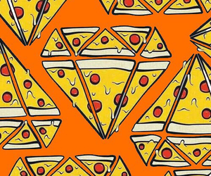 wallpaper, pizza, and background image
