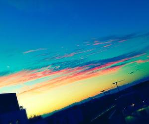 beautiful sky paris image